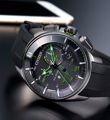 Citizen's Eco-Drive Bluetooth Connected Watch Series