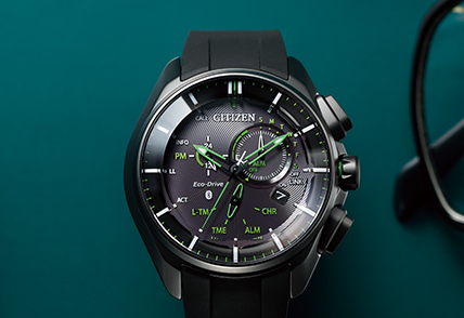 Eco-Drive Bluetooth Gents