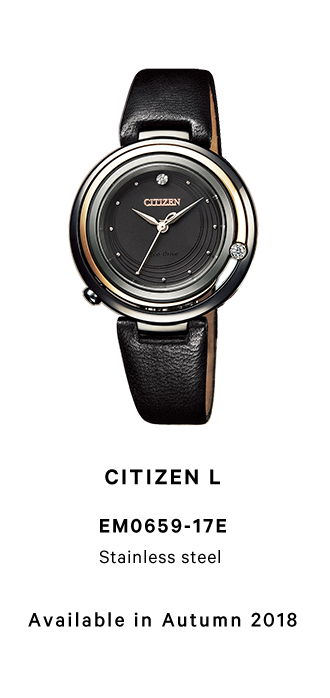 CITIZEN L EM0659-17E Stainless steel Available in Autumn 2018